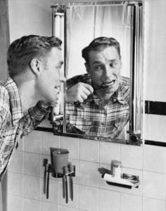vintage oral hygiene